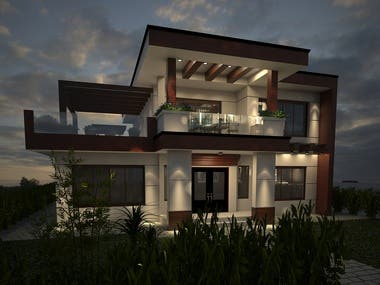 Home exterior designing