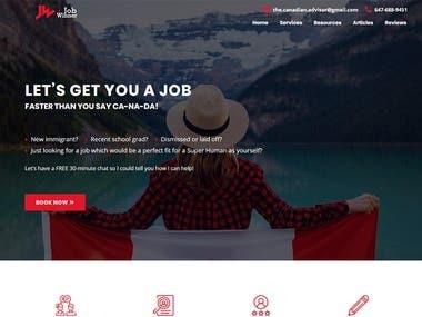 Job Winner website