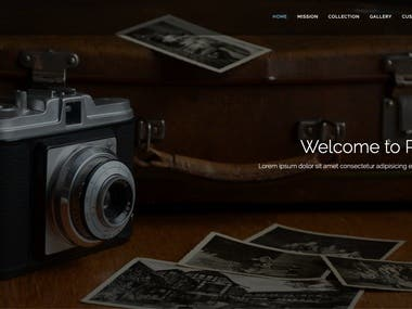 photox.softsons.com | A Photography website