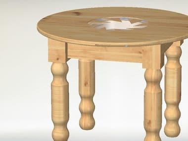 barbicue table