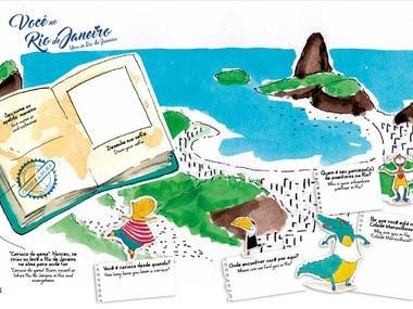 Caderno de Aventuras Rio de Janeiro