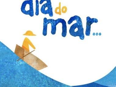 Livro e Animação Dia do Mar