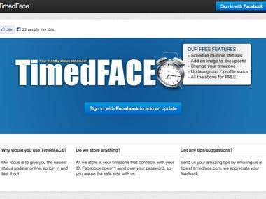 TimedFace.com