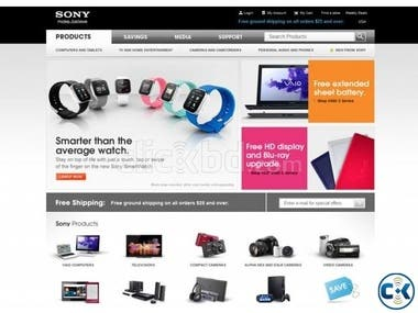 Best eCommerce Site design in bd