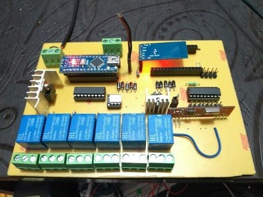 Iot based home automation