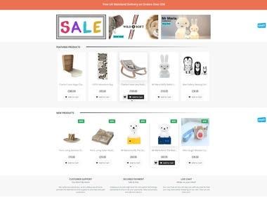 lullabuy Magento Website