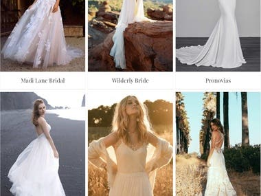 Embrace bridal boutique
