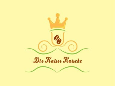 Logo for Die Kaiser Kutsche Coffee, Waffle, Wine