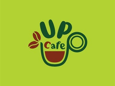 Logo for UP cafe