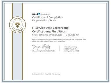 IT Service Desk Careers