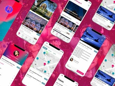 ⭐React Native Event Booking App UI Development⭐