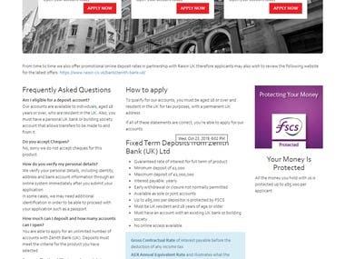 ⭐Zenith Bank Website Frontend Clone⭐