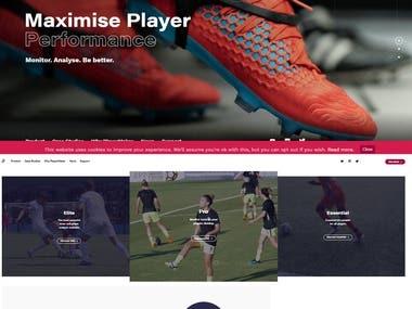 https://playermaker.com / Sport Wordpress