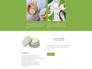 WooCommerce Shop and Landing Page | Wordpress