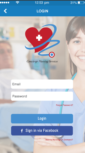 Nursing Ondemand Mobile App