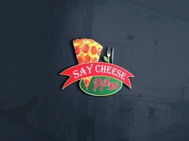 Logo for pizza shop