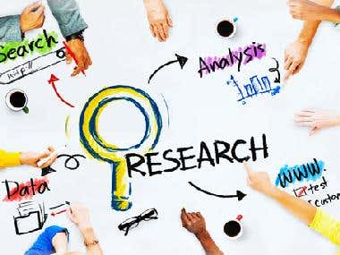 Web research on any subject
