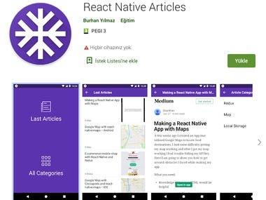 React Native Articles