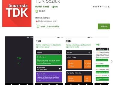 Tdk - Turkish Dictionary App