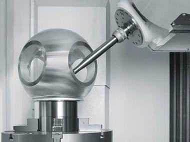 5 Axis CNC Machining Aluminum Parts