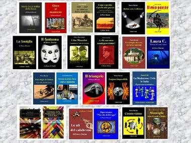 Some books in digital version made by me
