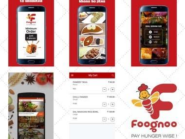 Foognoo: Food Delivery App
