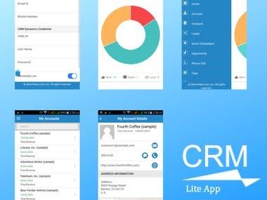CRM Lite App