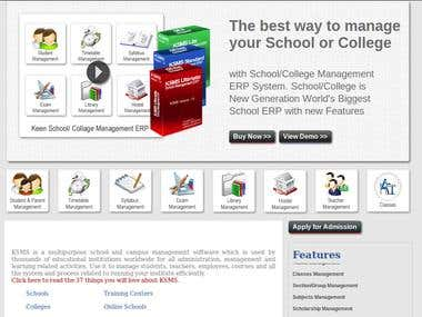 Cloud Based School ERP