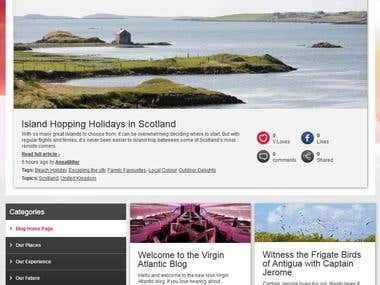 The Virgin Atlantic Blog