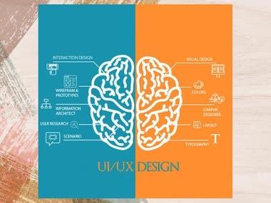 Social media marketing post design for a client