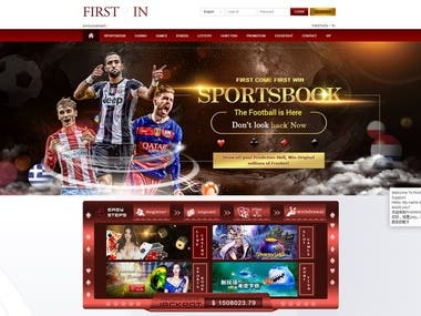 Gambling web site