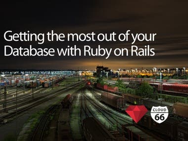Database with Ruby on Rails