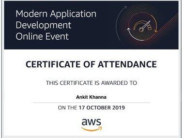 AWS Modern Application Development