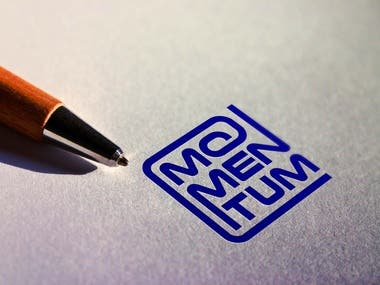 """Logo design for """"Momentum"""""""