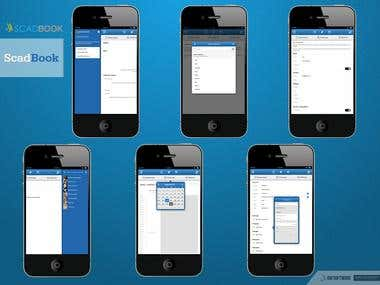 Scadbook - Marketing App