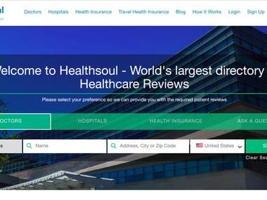Healthsoul- An integrated international site for patients