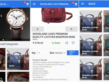 WhatsApp Resellers - An eCommerce app for fashion products