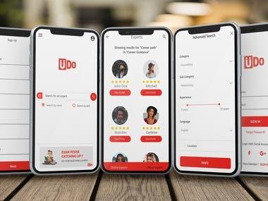 Udo Mobile App