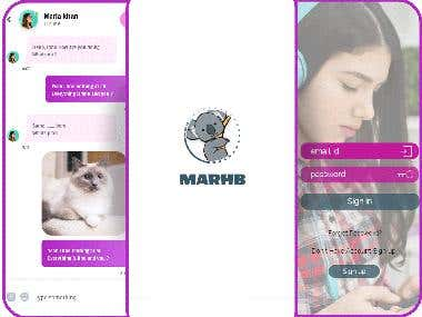 Marhab live broadcasting App