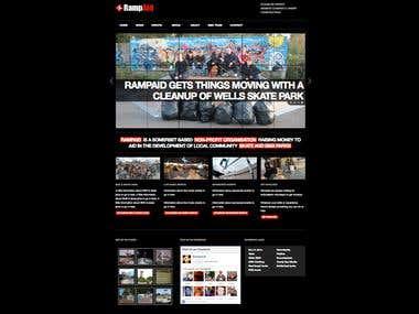 WordPress Website - RampAid