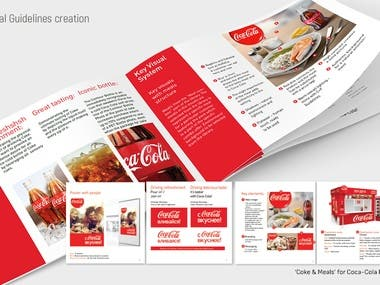 Visual Guidelines - Coke & Meals