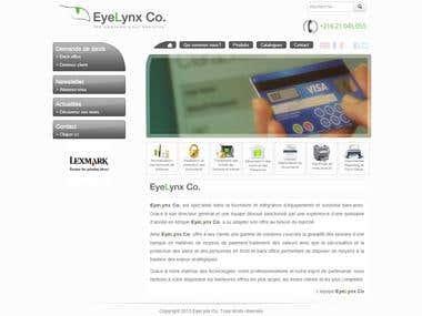 Eyelynx Co. Website