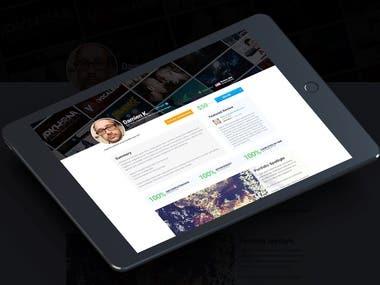 Spec Profile Redesign (Corporate)