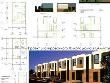 Project of a Townhouse