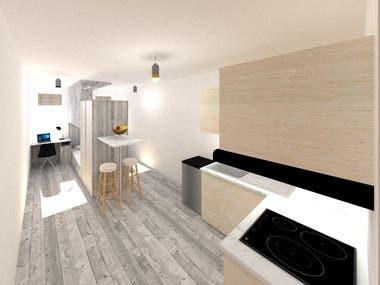 3x6 room design