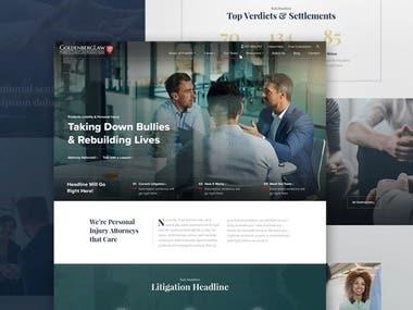 GoldenBerg Website