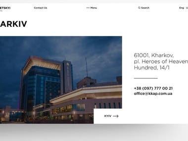 Krhariv Web Design