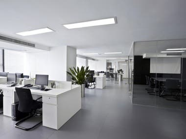 INTERIOR DESIGN FOR AN OFFICE