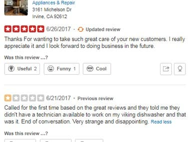 Take a good care of new customers