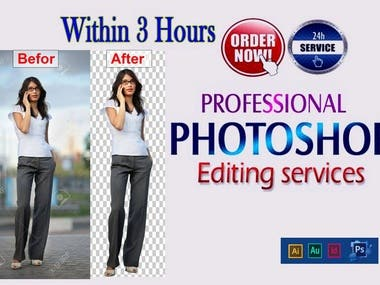 Adobe photoshop Editing works